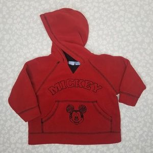Mickey Mouse Fleece Hooded Sweatshirt